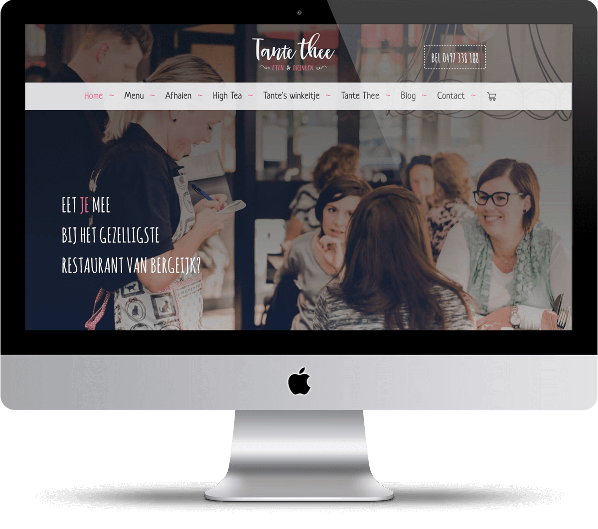 Webdesign Tante Thee