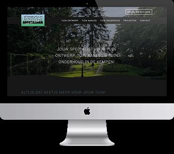 Webdesign Bruns Tuinen
