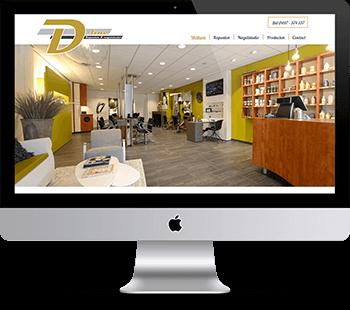 Webdesign D-line