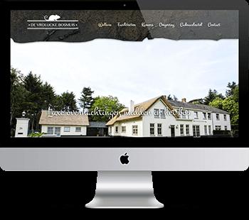 Webdesign De vrolijcke bosmuis
