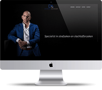 Webdesign Denissen advocaat