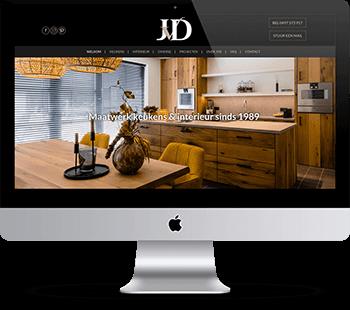 Webdesign JvD Bergeijk
