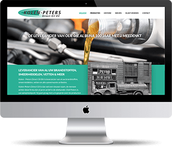 Webdesign Kolen Peters