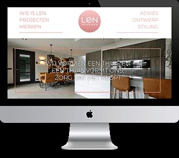 Webdesign Len interieur