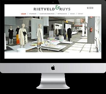 Webdesign Rietveld & Ruys