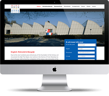 Webdesign Rietveld in Bergeijk