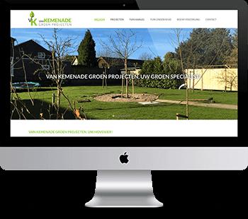 Webdesign van Kemenade