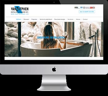 Webdesign van Zutphen